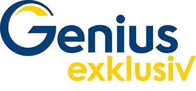 Genius Exklusiv Logo RGB 72dpi 1 - Genius Exklusiv startet am 1. Februar 2019