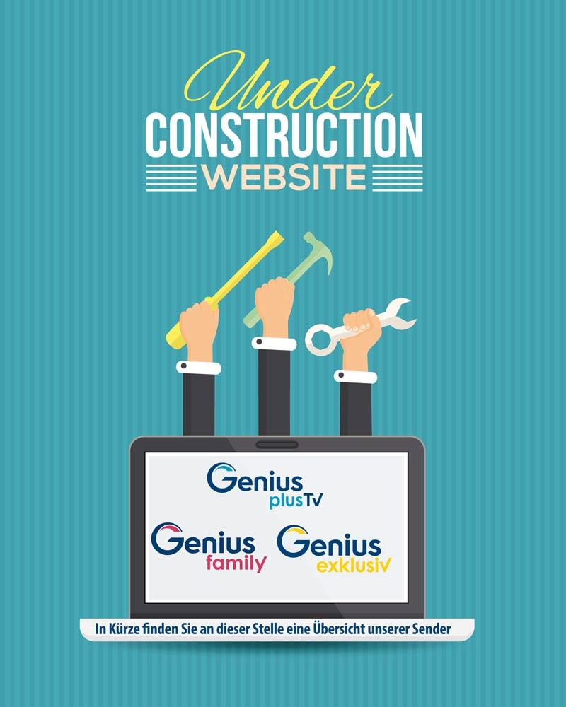 Under construction - Unsere Sender