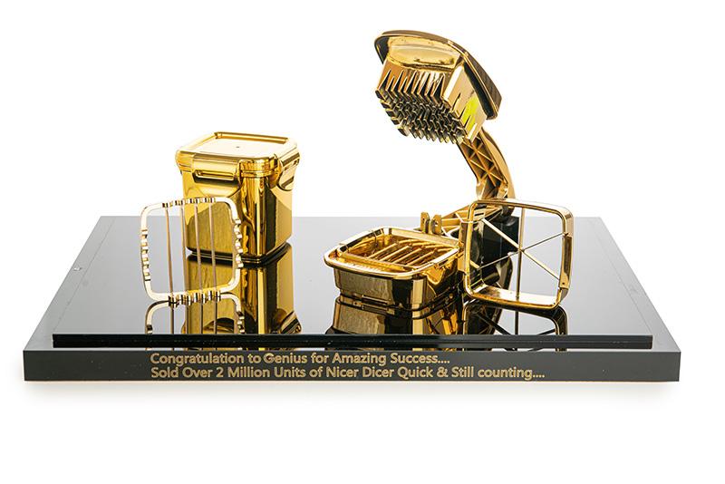 News goldener NDQuick 290120 kl - Nicer Dicer Quick 2 Millionen-fach verkauft