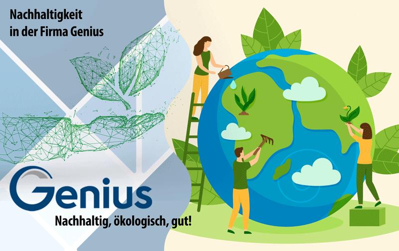 Nachhaltigkeit 1 - Nachhaltigkeit bei Genius