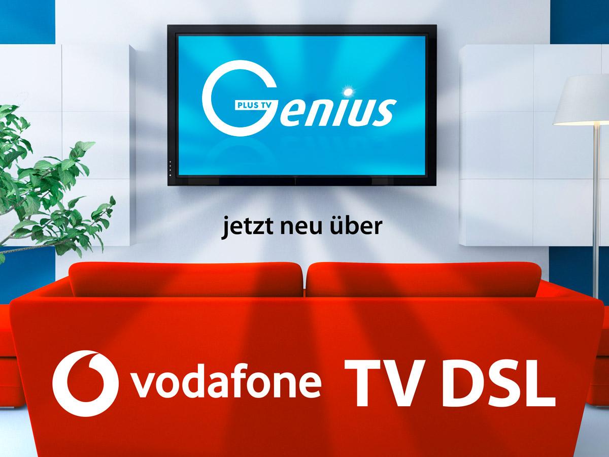 IPTV - Kooperation GeniusPlusTV & Vodafone