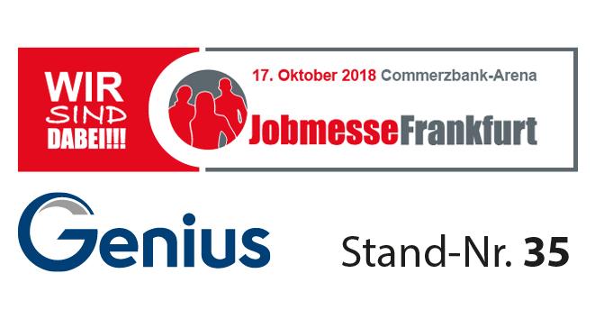 Button Jobmesse FFM Xing - Genius auf der Jobmesse Frankfurt
