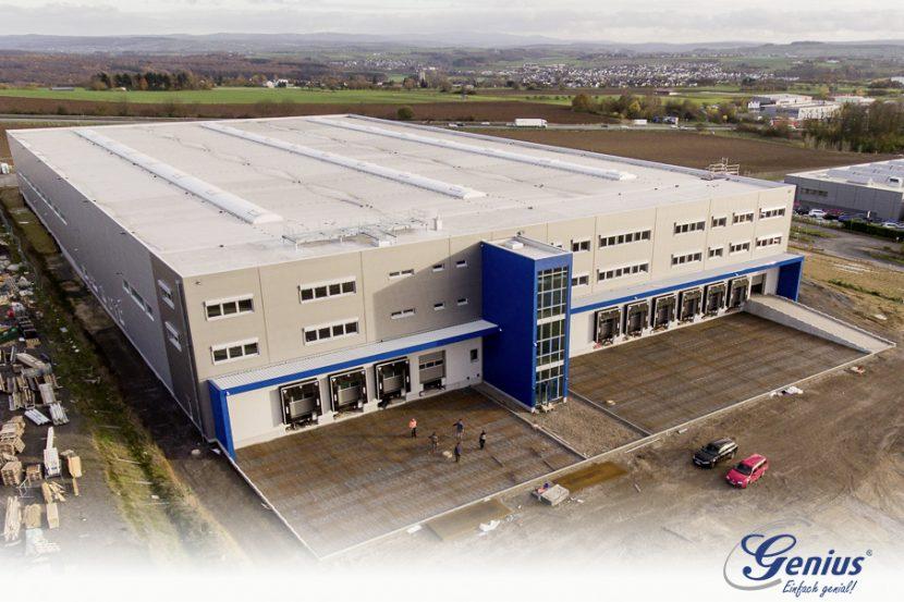 Neubau 2 logo 830x553 - Das neue Service- und Logistikzentrum
